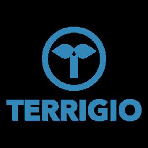 Terrigio Logotyp Blå